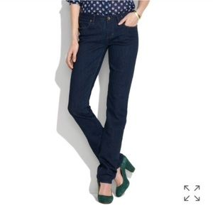 Madewell | Rail Straight Jeans in MW Wash 27